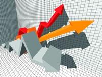 business arrow diagram
