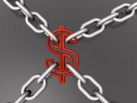 dollar in chains