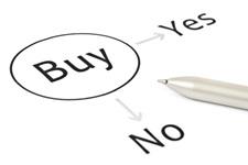 buy decision concept