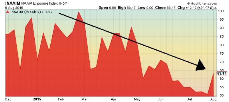 NAAIM Exposure Chart