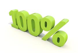 100 Percent profit
