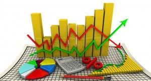 Charts. Business still life