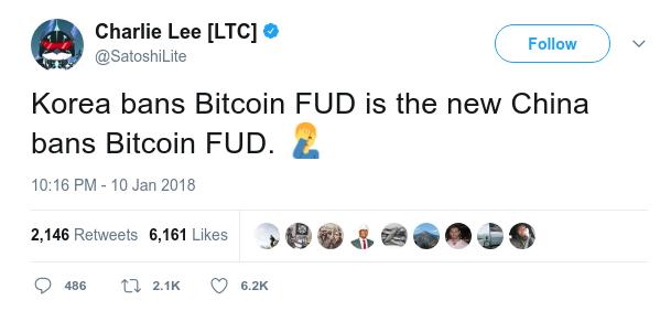 LTC tweet