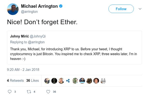 Michael tweet
