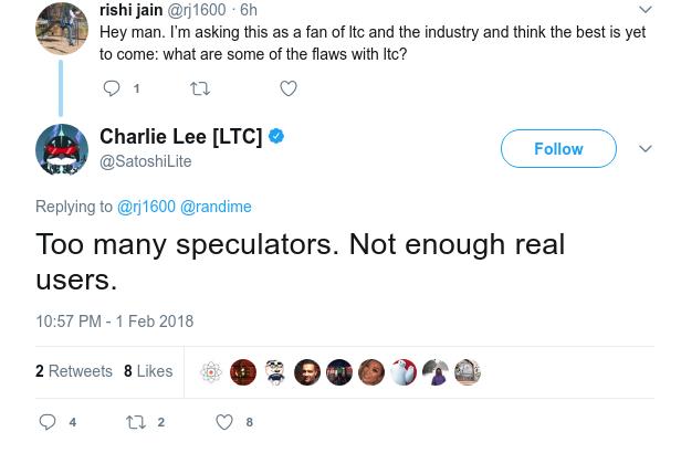 charlie lee tweet