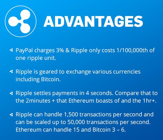 ripple advantages