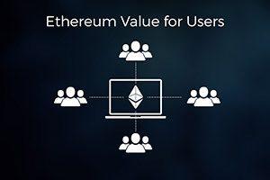 Valeur Ethereum pour les utilisateurs